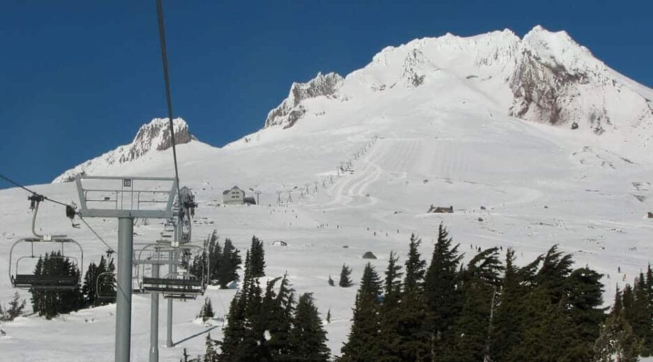 Take the Magic Mile Sky Ride on Majestic Mt Hood, Old Parkdale Inn