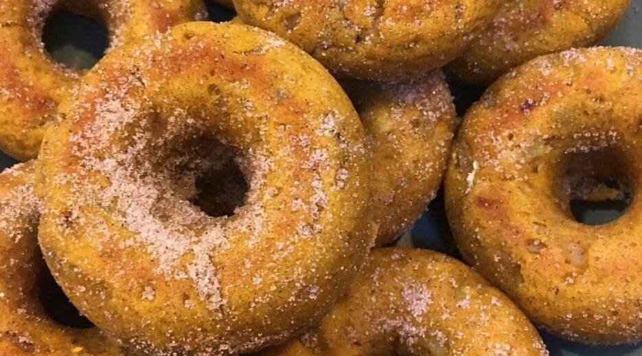 Baked Pumpkin Donut at the Old Parkdale Inn, Old Parkdale Inn