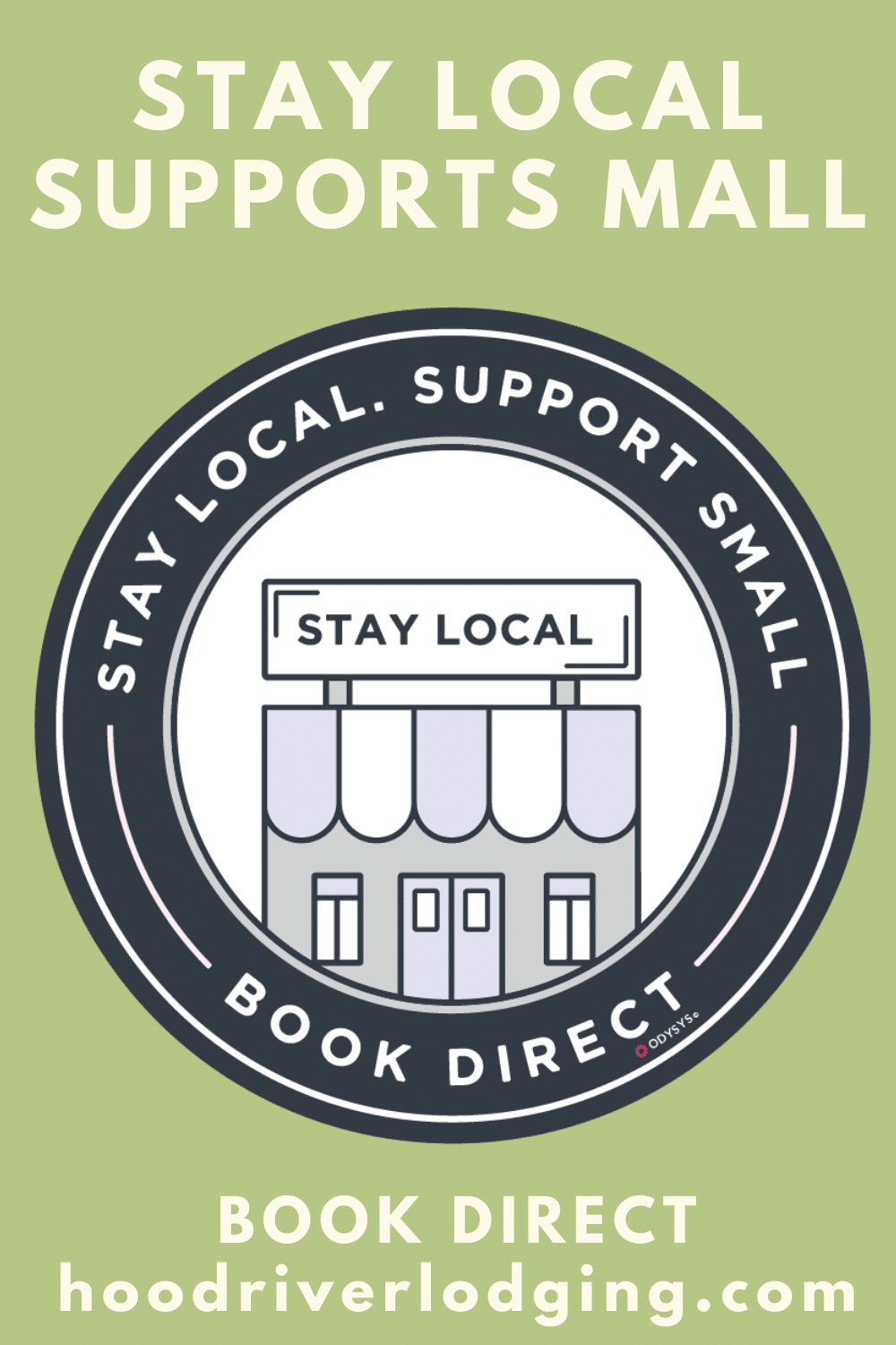 Stay Local. Support Small. Book Direct at the Old Parkdale Inn, Old Parkdale Inn