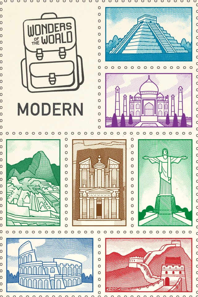 Modern Wonders of the World Souvenir