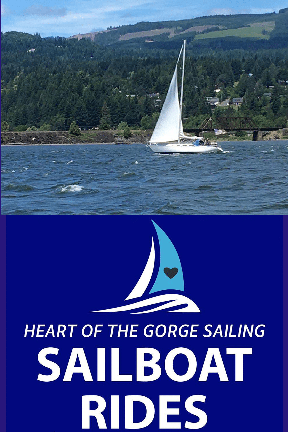 Sail in, and with, the Heart of the Gorge