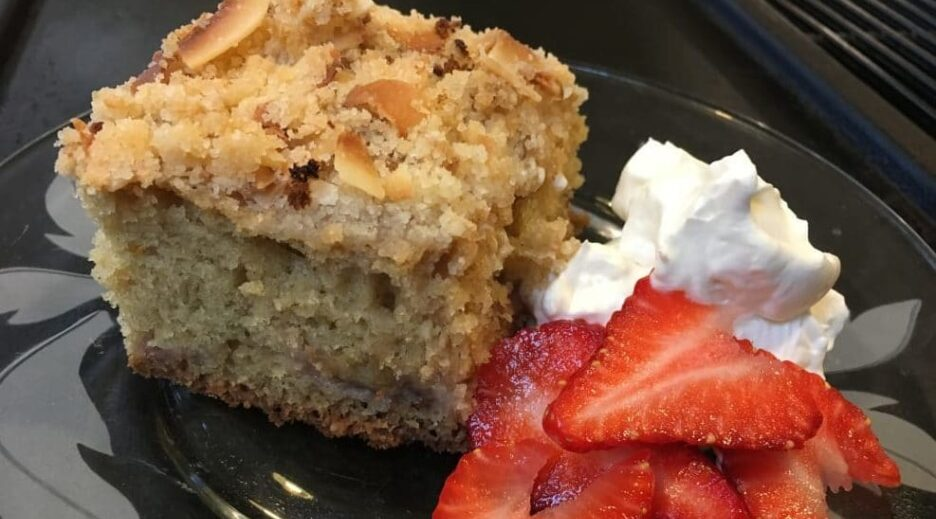 A Northwest Tasty Coffee Cake ~ Strawberry Rhubarb Coffee Cake, Old Parkdale Inn