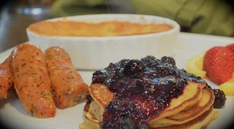 National Blueberry Pancake Day is January 28, Old Parkdale Inn