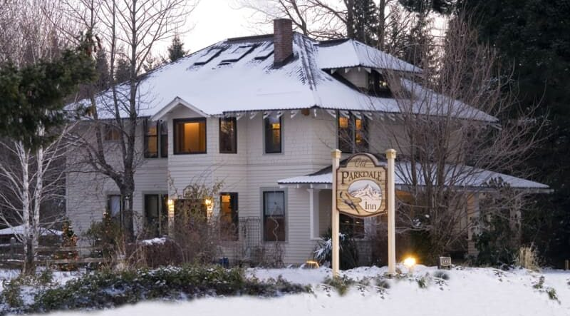 Cozy Winter Nights at the Old Parkdale Inn Bed and Breakfast, Old Parkdale Inn
