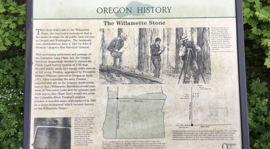 The Willamette Stone State Heritage Site, Old Parkdale Inn