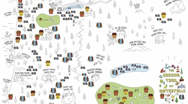 Get a FREE Oregon Trail of Waterfalls Map – While Supplies Last!, Old Parkdale Inn